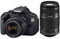 Canon EOS 600D +  18-55mm IS & 55-250mm IS Lenses best price UK