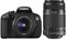 Canon EOS 650D with 18-55mm and 55-250mm Lenses best price UK